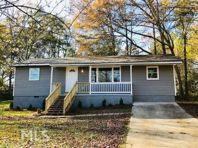 Griffin Single Family Home New: 1101 N McDonough Rd