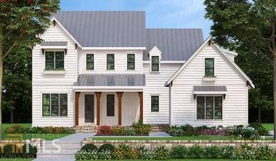 Woodstock Single Family Home For Sale: 3032 Trickum Rd