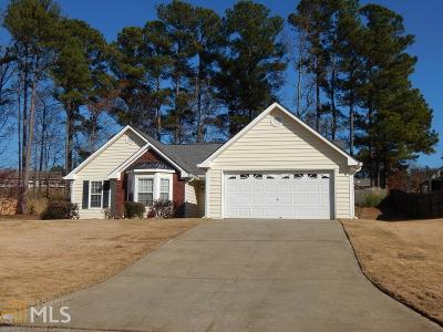 Loganville Single Family Home Under Contract: 455 Towler Ct