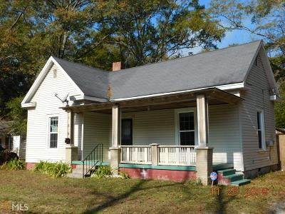 Barnesville Single Family Home For Sale: 129 Cherry St