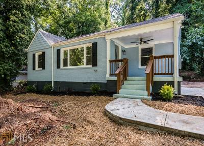 Decatur Single Family Home New: 1840 Hillsdale Dr