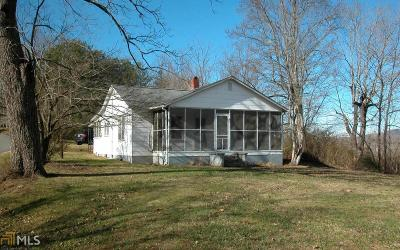 Towns County Single Family Home Under Contract: 5327 Walker St