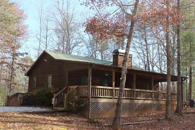 Sautee Nacoochee Single Family Home For Sale: 18 Buckhorn Trl