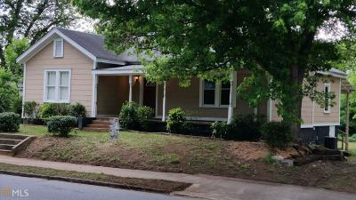 Elberton GA Single Family Home For Sale: $69,900