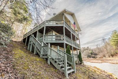 Rabun County Single Family Home For Sale: 185 Sylvan Lake Dr