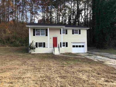 Marietta Single Family Home Contingent With Kickout: 2056 Mulkey Rd