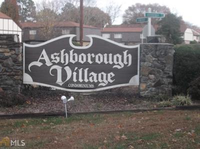 Marietta Condo/Townhouse New: 1204 Ashborough Dr #D