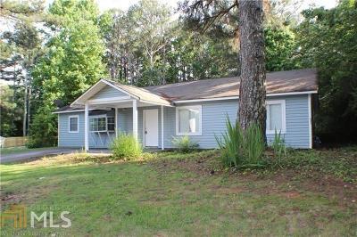Douglasville Single Family Home New: 2781 Pope