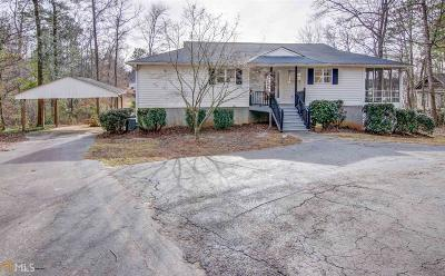 Butts County, Jasper County, Newton County Single Family Home Under Contract: 536 Partridge Dr