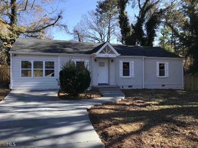 Decatur Single Family Home New: 2036 Rockhaven