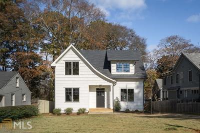 Decatur Single Family Home New: 216 E Pharr Rd E