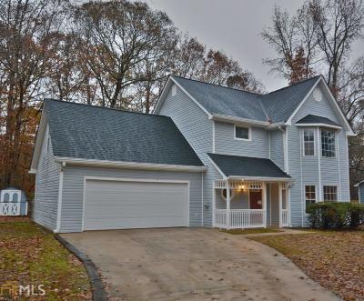 Douglasville Single Family Home New: 3709 Bomar Rd