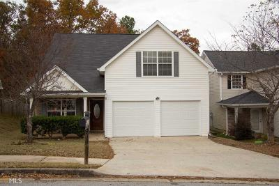 Douglasville Single Family Home New: 2834 Warhorse