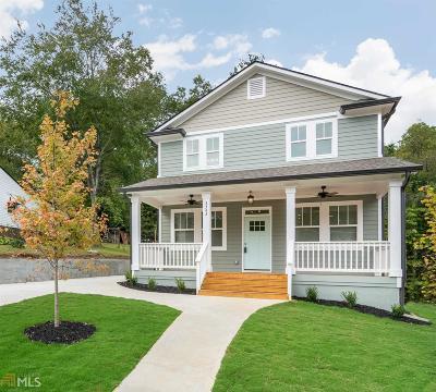Hapeville Single Family Home New: 3343 La Vista Dr