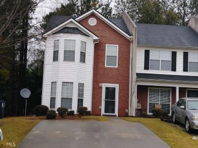 Coweta County Condo/Townhouse Under Contract: 123 Chastain Loop