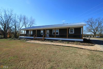Elbert County, Franklin County, Hart County Single Family Home Under Contract: 168 Freedom Church Rd