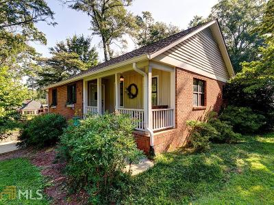 Historic Marietta Single Family Home New: 550 Cherokee St