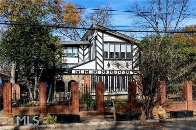 Virginia Highland Single Family Home For Sale: 870 Greenwood Ave