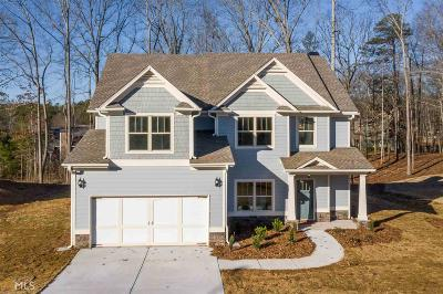Douglasville Single Family Home New: 645 Sweetwater Bridge Cir