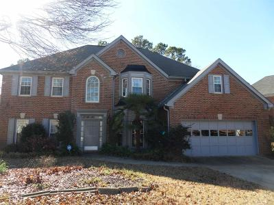 Fayetteville Single Family Home Under Contract: 12159 Olmstead Dr
