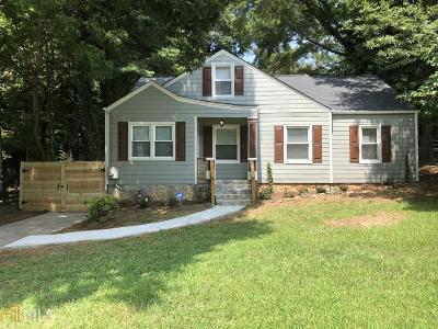 Atlanta Single Family Home New: 1611 Avon Ave