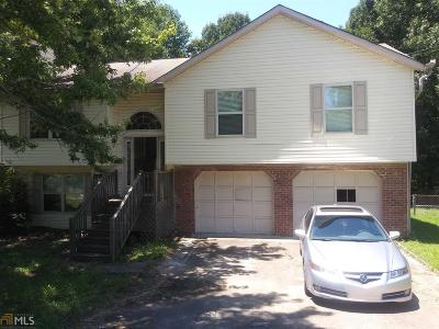 Douglasville Single Family Home Under Contract: 861 Donner Ct