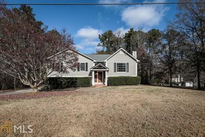 Hiram Single Family Home Under Contract: 121 Carrington Way