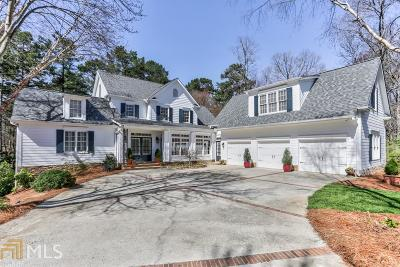 Marietta Single Family Home New: 1195 Gordon Combs Rd