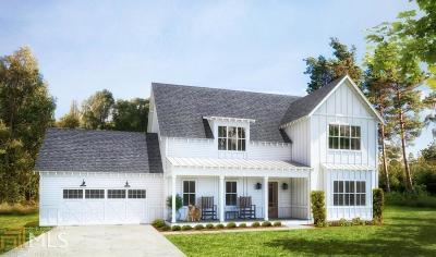 Cumming Single Family Home New: 3560 Pleasant Grove Rd