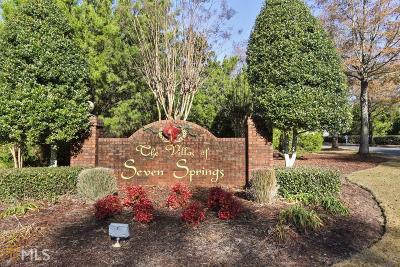 Powder Springs Condo/Townhouse For Sale: 3796 Villa Springs Cir