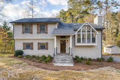 Kennesaw GA Single Family Home Under Contract: $269,000