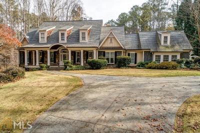 Woodstock Single Family Home For Sale: 5111 Eubanks Rd