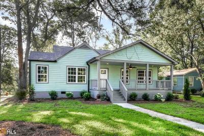 Hapeville Single Family Home New: 3074 Old Jonesboro Rd