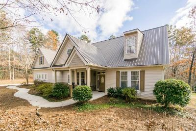 Dawsonville Single Family Home New: 186 Fern Park Dr
