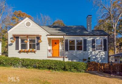 Hapeville Single Family Home New: 321 Maple St