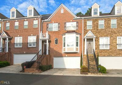 Johns Creek Condo/Townhouse For Sale: 10780 Brunson Dr