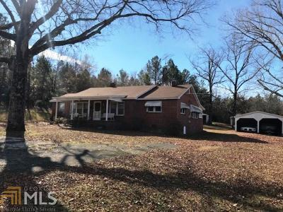 Elberton GA Single Family Home Under Contract: $155,000