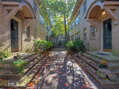 Condo/Townhouse Under Contract: 1125 Briarcliff Pl #6