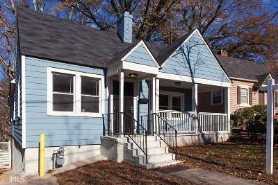 Atlanta Single Family Home New: 1013 Washington Heights Terrace