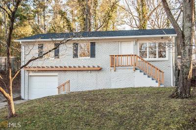Atlanta Single Family Home New: 2374 Bouldercliff Way