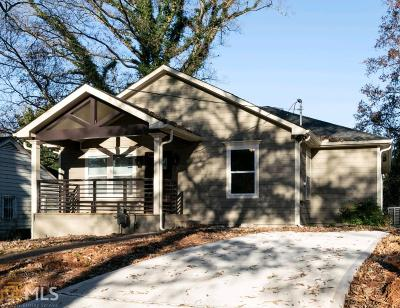 Sylvan Hills Single Family Home New: 1687 Lanier Dr