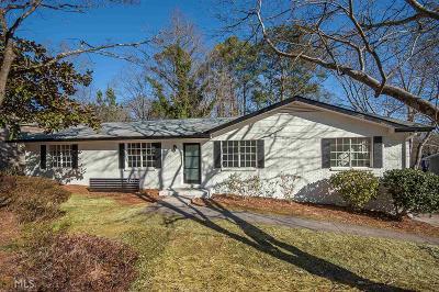 Cobb County Single Family Home New: 4191 Deerwood