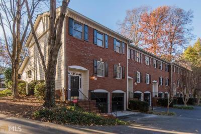 Atlanta Condo/Townhouse New: 301 Dunwoody Chace
