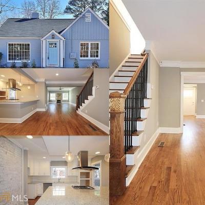 Atlanta Single Family Home New: 872 Hall St