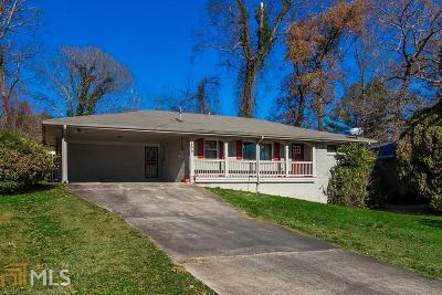 Atlanta Single Family Home New: 1570 Boulderwoods Drive SE