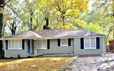 Decatur Single Family Home New: 1920 Rosewood Rd
