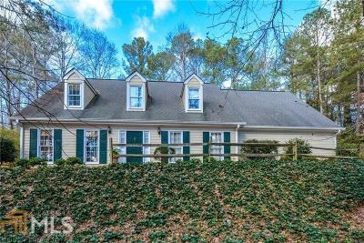 Roswell Single Family Home New: 3433 Johnson Ferry Rd