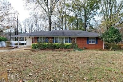 Cobb County Single Family Home Under Contract: 1851 Posten Ln