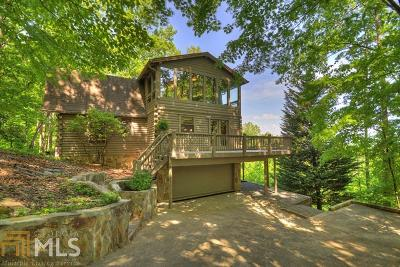 Ellijay Single Family Home Under Contract: 747 Walnut Mountain Rd