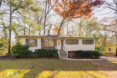 Atlanta Single Family Home New: 2522 Hatfield Circle SE